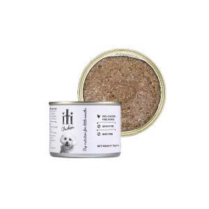 ドッグフード 缶詰 鶏肉 穀物不使用 グレインフリー iti(イティ) ドッグ チキン缶 175g ペットフード|petspa