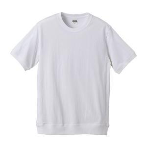 Tシャツ メンズ レディース 半袖 無地 丸首 大きい サイズ 厚手 綿 綿100 シャツ tシャツ スポーツ クルーネック ブランド スウェット 男 女 丈夫 s m l 2l 白 petstore