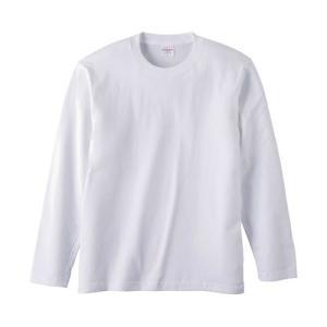 Tシャツ メンズ レディース 長袖 無地 uネック 綿 綿100 大きい 厚手 シャツ tシャツ スポーツ ブランド トップス クルーネック 丈夫 男 女 s m l 2l 3l 白 色|petstore