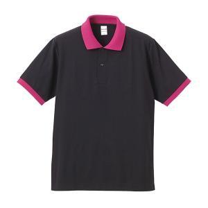ポロシャツ メンズ レディース 半袖 シャツ ブランド ドライ 無地 大きい 小さい UVカット スポーツ 鹿の子 男 女 消臭 速乾 xs s m l 2l 3l 4l 5l 黒 ピンク|petstore