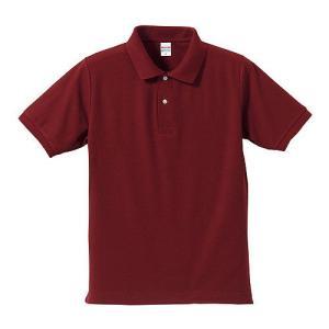 ポロシャツ メンズ レディース 半袖 シャツ ブランド ドライ 無地 大きい 小さい UVカット スポーツ 鹿の子 男 女 消臭 速乾 xs s m l 2l 3l 4l 5l 赤 ワイン|petstore