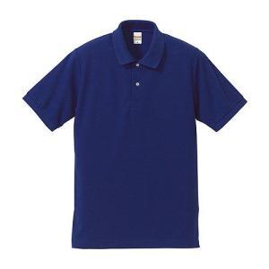ポロシャツ メンズ レディース 半袖 シャツ ブランド ドライ 無地 大きい 小さい UVカット スポーツ 鹿の子 男 女 消臭 速乾 xs s m l 2l 3l 4l 5l 人気 青 色|petstore