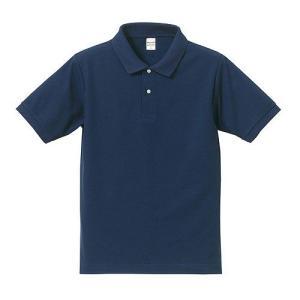 ポロシャツ メンズ レディース 半袖 シャツ ブランド ドライ 無地 大きい 小さい UVカット スポーツ 鹿の子 男 女 消臭 速乾 xs s m l 2l 3l 4l 5l 青 ネイビー|petstore