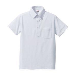 ポロシャツ メンズ レディース 半袖 シャツ ブランド ドライ 無地 大きい 小さい UVカット スポーツ 鹿の子 男 女 消臭 速乾 xs s m l 2l 3l 4l 5l ポケット 白|petstore