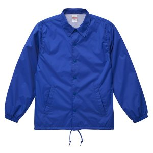 ジャケット メンズ レディース 青 ブルー s m l xl 2l ナイロン コーチジャケット ジャンパー 防寒 ブルゾン 秋 冬 コーチ 無地 アウター ユナイテッドアスレ|petstore