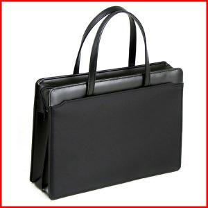 ビジネスバッグ リクルートバッグ レディース 女 A4対応 日本製 22146(クロ)|petstore