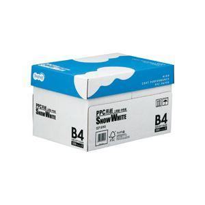 まとめ TANOSEE PPC用紙 SNOW WHITE 1箱 〔×10セット〕 国内正規品 Seasonal Wrap入荷 2500枚:500枚×5冊 B4