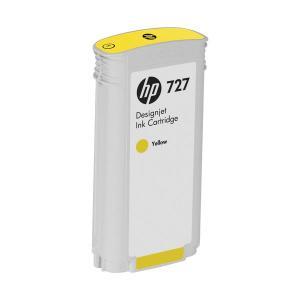 (まとめ) HP727 インクカートリッジ 染料イエロー 130ml B3P21A 1個 〔×3セット〕 petstore 01