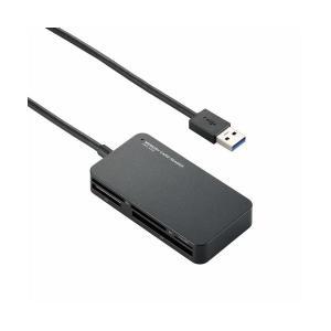 まとめ 手数料無料 ランキング総合1位 エレコム USB3.0対応メモリリーダライタ MR3-A006BK〔×2セット〕