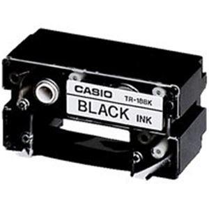送料込 正規品 業務用70セット カシオ CASIO CR-Rプリンターリボン TR-18BK 黒