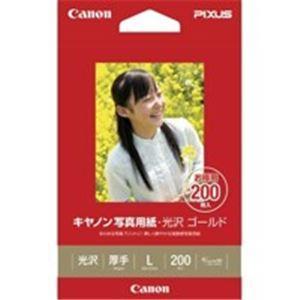 業務用30セット 日本正規代理店品 付与 キヤノン Canon 写真紙 L 光沢ゴールド 200枚 GL-101L200