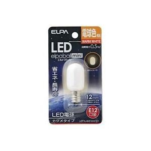 <title>業務用80セット 朝日電器 ELPA セール特別価格 電球形LEDランプ ナツメ型LDT1L-G-E12-G101</title>