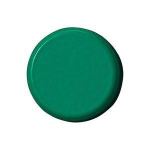 業務用100セット 正規取扱店 ジョインテックス 強力カラーマグネット 塗装18mm 緑 交換無料 10個 B272J-G