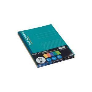 業務用100セット プラス ノートブック NO-003BS-5CP B5 国際ブランド 5冊 B罫 売却