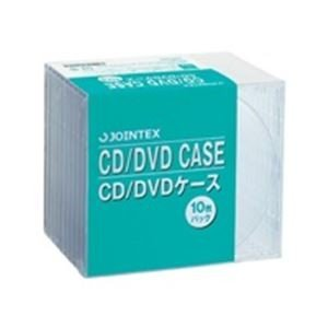 業務用60セット 2020春夏新作 ジョインテックス CD DVDケース 定番 10mm厚 A403J 10枚