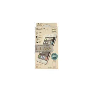 <title>まとめ E-SELECT iPhone6 6S用保護ガラスフィルム 人気ブランド 厚み0.3ミリ 日本製ガラス ES-I6GLS03CL〔×3セット〕</title>