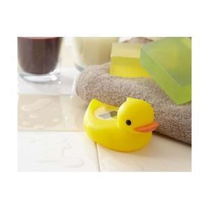 【商品名】 (まとめ)DRETEC アヒルの湯温計 快適バスタイム O-238 デジタル湯温計 ガー...