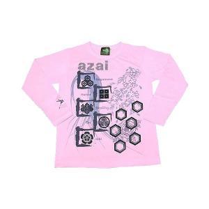 浅井家 最新号掲載アイテム 長Tシャツ 使い勝手の良い LW ピンク S