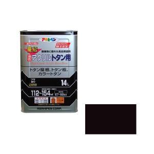 【商品名】 アサヒペン AP 高級アクリルトタン用 14L 新茶