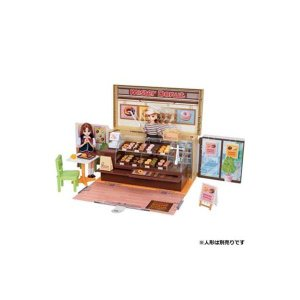 【商品名】 タカラトミー ドーナツいっぱい ミスタードーナツショップ 【リカちゃん】