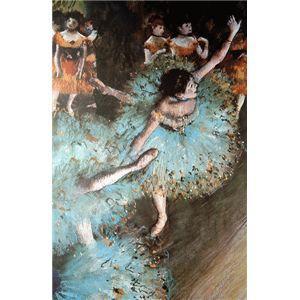 世界の名画シリーズ プリハード複製画 エドガー バランスをとる踊り子 ドガ作 〔代引不可〕 [宅送] 在庫あり