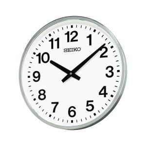 セイコークロック 正規店 屋外 セール品 防雨型掛時計 KH411S