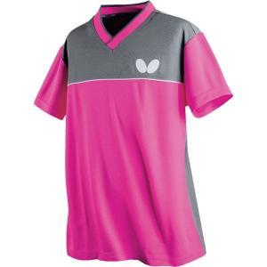 贈与 バタフライ Butterfly 卓球アパレル DOISLITE SHIRT ドイスライト 高級な 男女兼用 ピンク シャツ 45270 150
