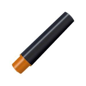(まとめ) ゼブラ 水性マーカー紙用マッキー(太+細)用インクカートリッジ オレンジ RWYT5-O...