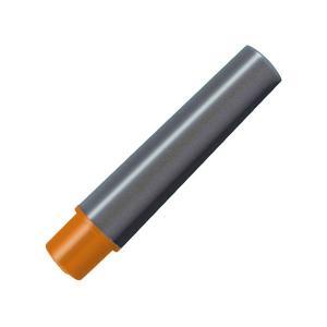 (まとめ) ゼブラ 水性マーカー紙用マッキー極細用インクカートリッジ オレンジ RWYTS5-OR ...