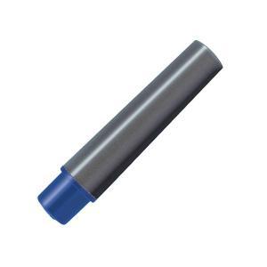 (まとめ) ゼブラ 水性マーカー紙用マッキー極細用インクカートリッジ 青 RWYTS5-BL 1パッ...