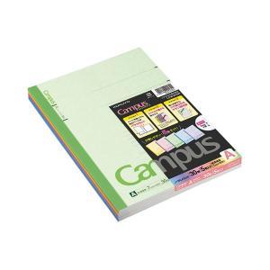 <title>まとめ コクヨ キャンパスノート カラー表紙 引出物 セミB5 A罫 30枚 5色 各色1冊 ノ-3CANX5 1パック 5冊 〔×10セット〕</title>