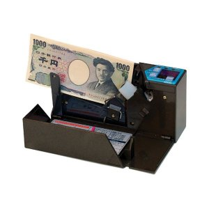 エンゲルス 小型紙幣計数機ハンディーカウンター お気にいる 枚数指定ストップ機能あり 1台 海外 AD-100-02 ストーンブラック