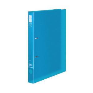 (まとめ)コクヨ リングファイル(スリムスタイル)クリアカラー A4タテ 2穴 220枚収容 背幅33mm ライトブルー フ-URFC430LB 1冊 〔×20セット〕|petstore