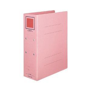 まとめ コクヨチューブファイル 推奨 カラーボードツイン A4タテ 500枚収容 即納送料無料 〔×10セット〕 50mmとじ ピンク 背幅62mm フ-T1650P1冊