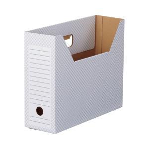 <title>TANOSEEボックスファイル ホワイト A4ヨコ 背幅100mm ブルー 1セット 選択 50冊:10冊×5パック</title>