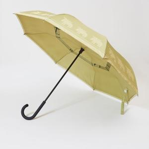 逆さに開く二重傘『Circus サーカス×moz モズ』/アンブレラ 〔オリーブ〕 晴雨兼用 自立可 生活雑貨|petstore