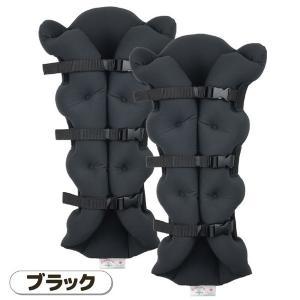 【商品名】 サクラ咲く足まくら EVOLUTION(両足セット) ブラック