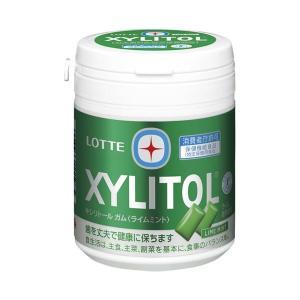 【商品名】 (まとめ)ロッテ キシリトールガムライムミント ボトル 143g【×30セット】