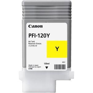 アウトレットセール 特集 業務用5セット 〔純正品〕CANON 2020 新作 2888C001 PFI-120Y インクタンク イエロー