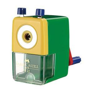 (まとめ) ファーバーカステル 鉛筆削り グリーンTFC-182263 1個 〔×10セット〕