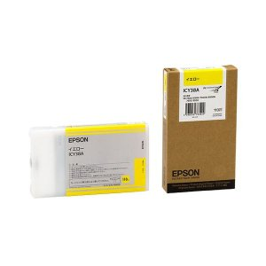 <title>まとめ エプソン EPSON PX-P K3インクカートリッジ イエロー 110ml ICY38A 1個 〔×10セット〕 至高</title>
