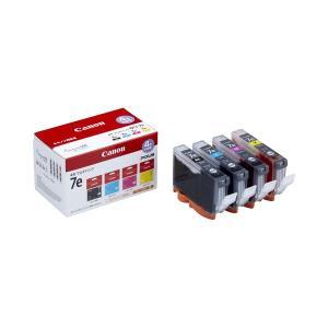 まとめ キヤノン Canon インクタンク BCI-7e 4MP 4色マルチパック 新商品!新型 〔×10セット〕 人気ショップが最安値挑戦 4個:各色1個 1018B001 1箱