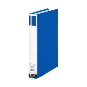 まとめ スマートバリュー 正規取扱店 パイプ式ファイル片開き青10冊 ×10セット D623J-10 高い素材