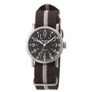 CROTON クロトン 腕時計メンズ 爆売りセール開催中 ナイロン RT-173M-02 3針 新品未使用