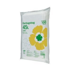 TANOSEE ゴミ袋エコノミー 大幅値下げランキング 半透明 1セット 45L 1000枚:100枚×10パック 捧呈