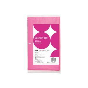 <title>まとめ TANOSEE サニタリーバッグ 世界の人気ブランド ピンク 1パック 50枚 〔×20セット〕</title>