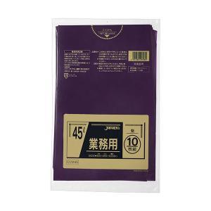 <title>まとめ ジャパックス 大放出セール カラーポリ袋 紫 45LCCM45 1パック 10枚 〔×20セット〕</title>