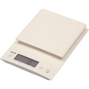 【商品名】 TANITA(タニタ) デジタルクッキングスケール KD-320 ホワイト