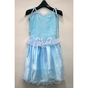 子供ドレス ドレス 子供 子ども 女の子 結婚式 ピアノ 発表会 かわいい おしゃれ ブルー キッズ ジュニア こども 七五三 誕生日 子供服 ガールズ 120cm 130cm 姫|petstore