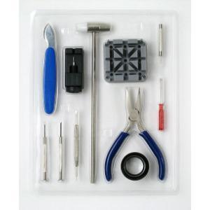 時計工具セット 11点 ベルト調整 時計修理工具 腕時計 時計 メンズ レディース 時計工具 ベルト交換 プロ 工具 腕時計用品 取扱説明書付き ピン抜き 腕時計工具 petstore